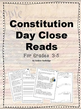 Constitution Day Close Reads