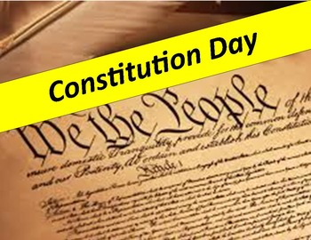 Constitution Day: Constitution Analysis with questions and key