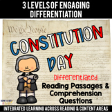 Constitution Day Differentiated Reading Passages & Questions