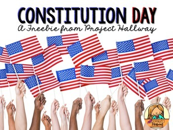 Constitution Day FREEBIE: Picture Book Lesson with Lift-th
