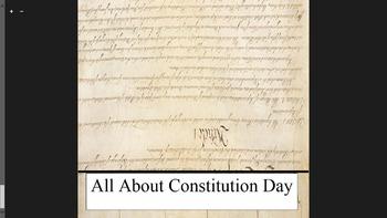 Constitution Day Flip Book