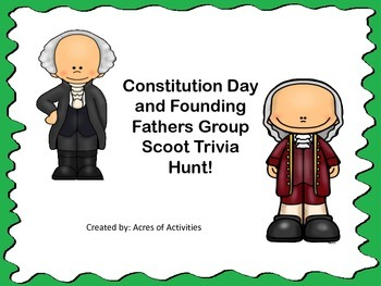 Constitution Day Founding Father Trivia Scoot