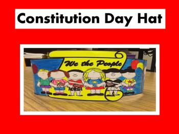 Constitution Day Hat