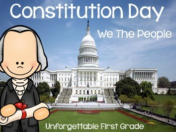 Constitution Day {Includes a George Washington Craftivity)