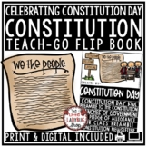 Digital U.S Constitution Day Activities Flip Book: United States History