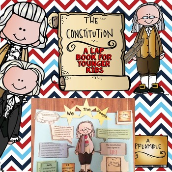 Constitution Day Lap Book for Younger Kids