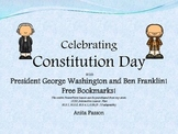 Constitution Day Lesson with George and Ben - Free Bookmarks!