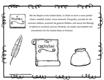Constitution Day Literacy Set