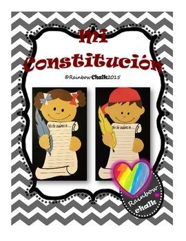 """Día de la Constitución: """"Mi Constitución"""""""