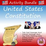 United States Constitution:  Activity Bundle