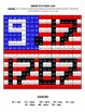 Constitution Day Multiplication Color by Number