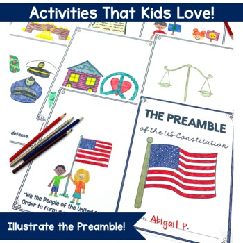 Constitution Day Non-Fiction Activities