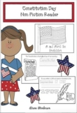 Constitution Day Activities For Elementary: Non-Fiction Emergent Reader