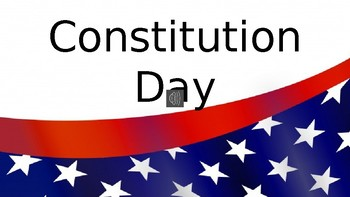 Constitution Day: PowerPoint Presentation with Musical Audio