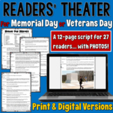 Veterans Day/ Memorial Day Readers' Theater script | PDF and Digital |