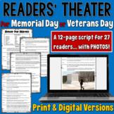 Veterans Day/ Memorial Day Readers' Theater script | PDF and Digital |