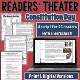 Constitution Day Readers' Theater Script | PDF and Digital |