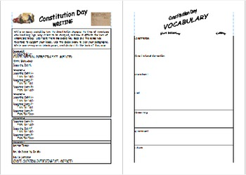Constitution Day Reading - Text Analysis