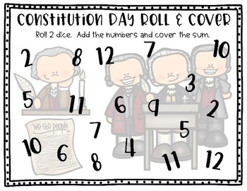 Constitution Day Roll and Cover