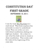 Constitution Day / Rules