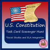U.S. Constitution Task Card Scavenger Hunt