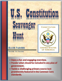 Constitution Day -- U.S. Constitution Overview and Fun Scavenger Hunt Activity