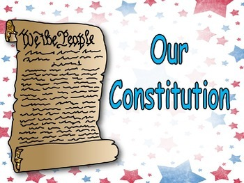 constitution day very easy shared reading powerpoint kindergarten
