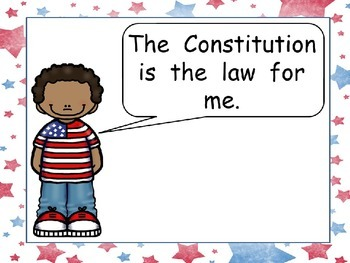 Constitution Day- Very EASY Shared Reading PowerPoint Kindergarten