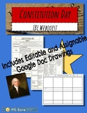 Constitution Day Webquest: Google Classroom Friendly