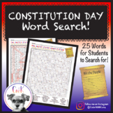 Constitution Day Word Search Activity!