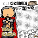 Constitution Day Word Search Activity