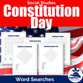 Constitution Day Word Searches
