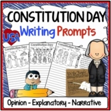 Constitution Day Writing Prompts {Narrative, Informative & Opinion Writing}