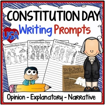 Constitution Day Writing Prompts {Narrative, Informative &