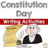 Constitution Day Writing Activities