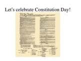 Constitution Day powerpoint    Engaging and relevant!