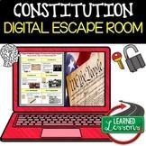 Constitution Digital Escape Room, Constitution Breakout Room, Test Prep