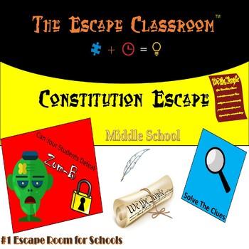 Constitution Escape Room (6th - 8th Grade)