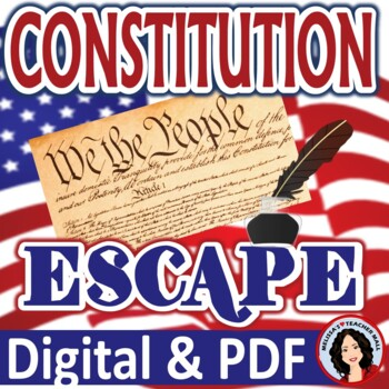 Constitution Escape Room Activity