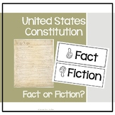 Constitution Fact or Fiction? Brief History of the Constitution