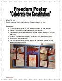"Constitution ""Freedom Poster"" Handout"
