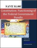 Constitution Functioning of the Federal Government Bundle