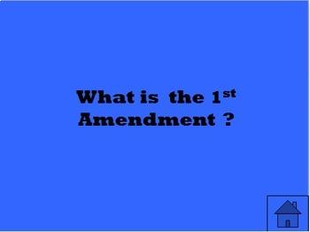 Constitution Trivia Game