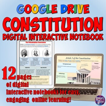 Constitution Google Drive Interactive Notebook