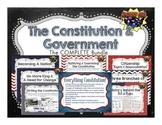 Constitution & Government: Complete Unit Bundle!