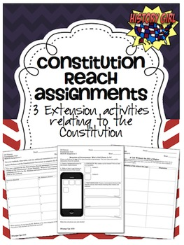 Constitution & Government: Extension Activities
