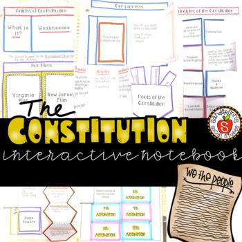 Constitution Interactive Notebook