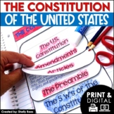 US Constitution Activities Interactive Notebook and Mini Unit