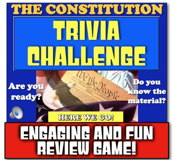 Constitution Review! Students review the Constitution with Jeopardy-like game!