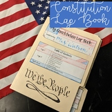 Constitution Lap Book / Interactive Notebook